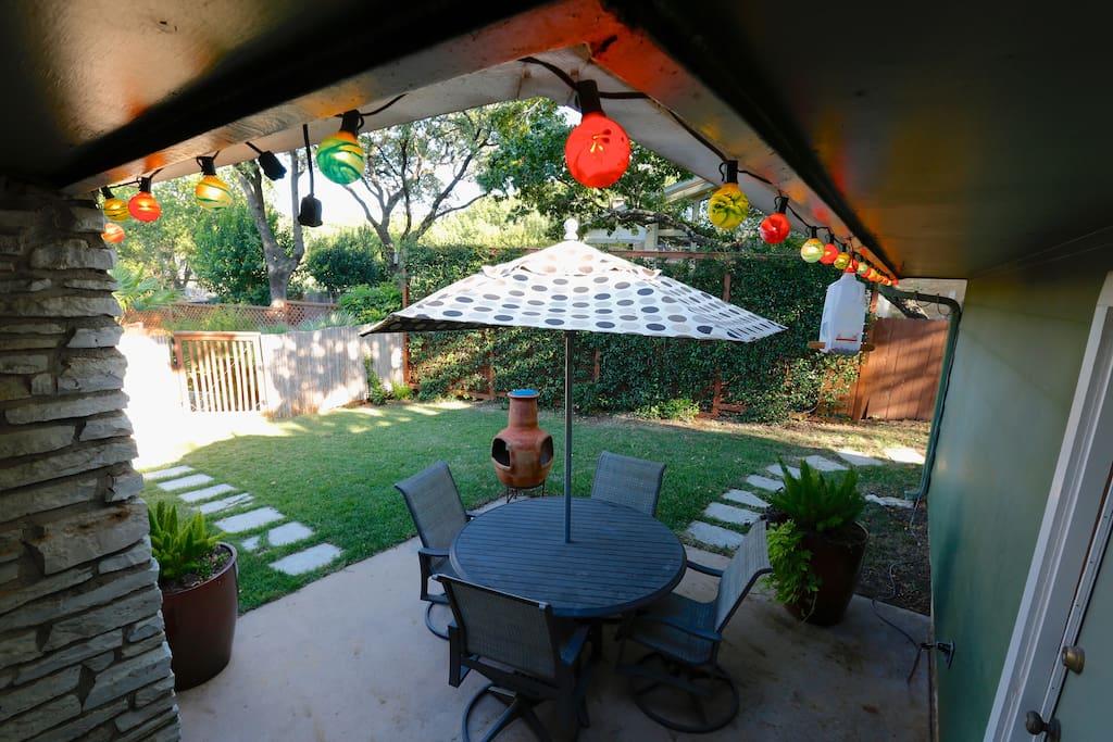 Fiesta Time Private Courtyard