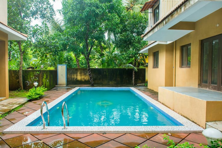 Luxury Fieldview 3 bedroom villa @ Chorao Island