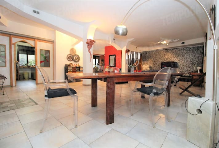 Camera privata in loft di 250 mq