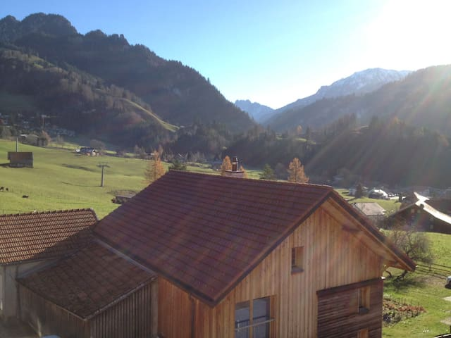 Lovely appartment in the Gruyère Pre-Alps