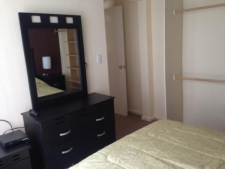 Apartamento Amueblado Vista Interior en la Condesa