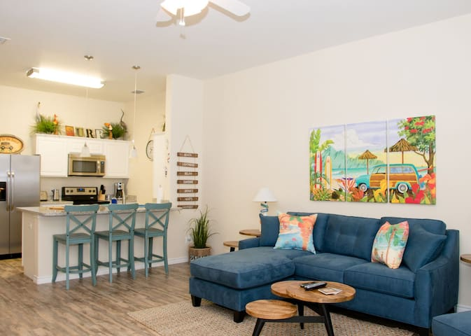 Coastal Cutie! 1BR/1Bath - Walking Distance to Beach and Packery Channel
