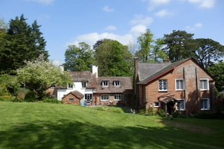 Countryside B&B in Athelhampton; Twin room - Puddletown