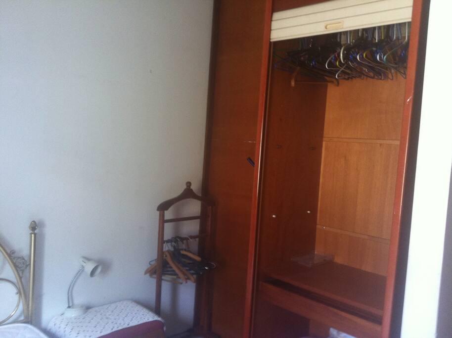 Bedroom's closet
