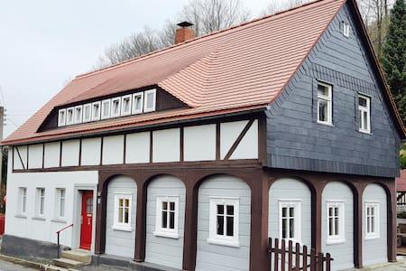 Umgebindehaus in Zittauer Mountains