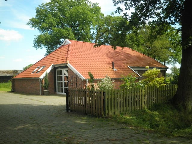 Beautiful cottage near Oldenburg - Uplengen - House