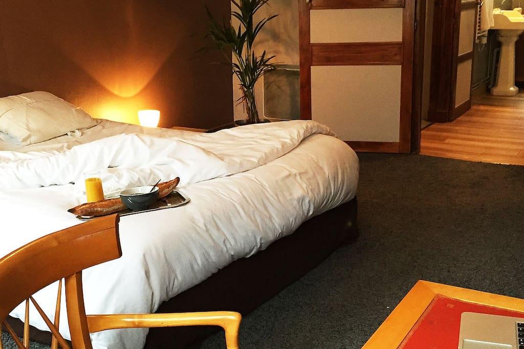 Votre chambre tout confort / comfortable room