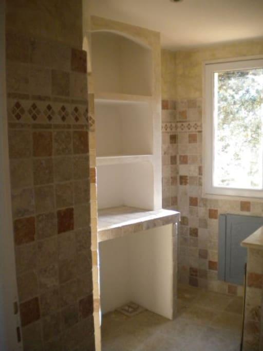 salle de bains etage