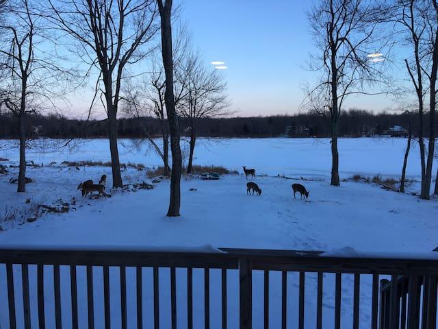 Beautiful Ski/Lake House in Poconos - Tobyhanna - Dom
