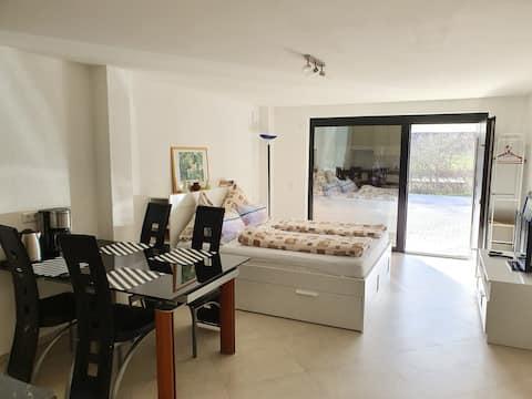 Modernes 1-Zimmer-Appartement in ruhiger Lage