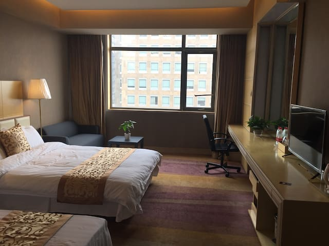 【北京清华大学】文津国际酒店舒适温馨家庭房