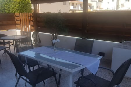 Ground floor apartment in Paphos!