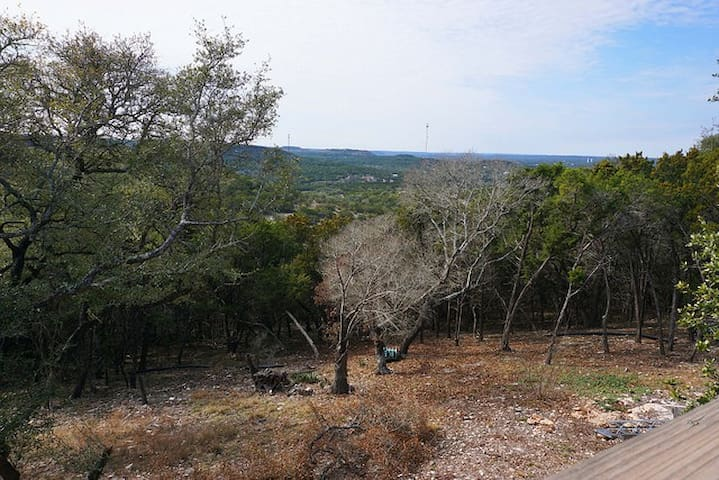 View of the hill country