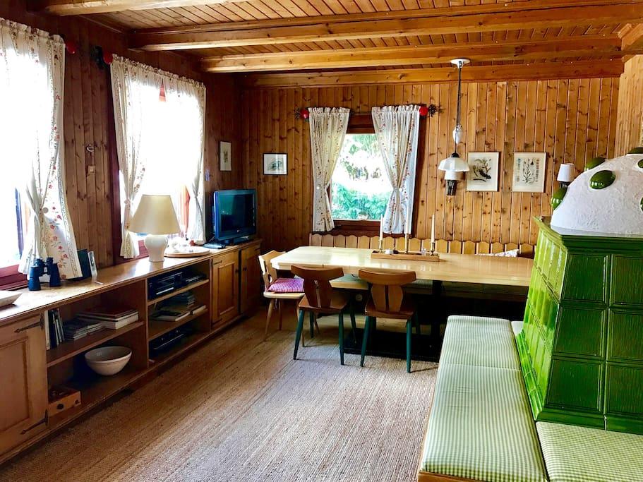 Wohnraum - untere Wohnung
