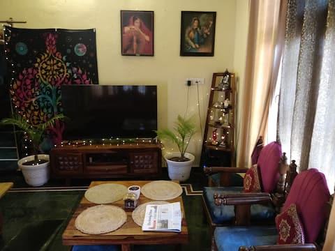 Paul's home - Himalayan cultural abode.