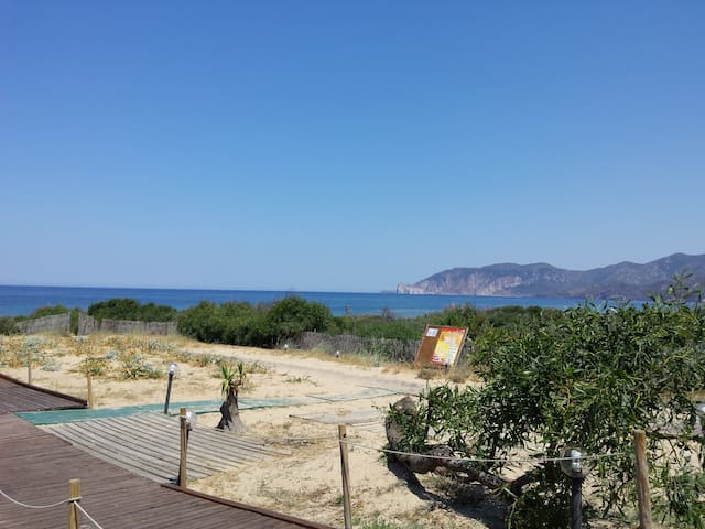 Fully furnished apartment in S/W Sardinia