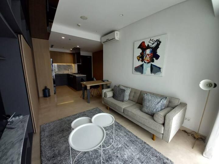 Hot View Apartment Setiabudi Skygarden high floor
