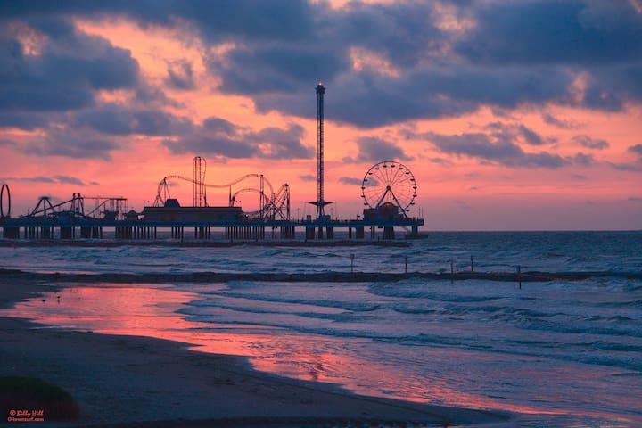 Beach Retreat/Beach access Unit # 6305 - Galveston - Wohnung