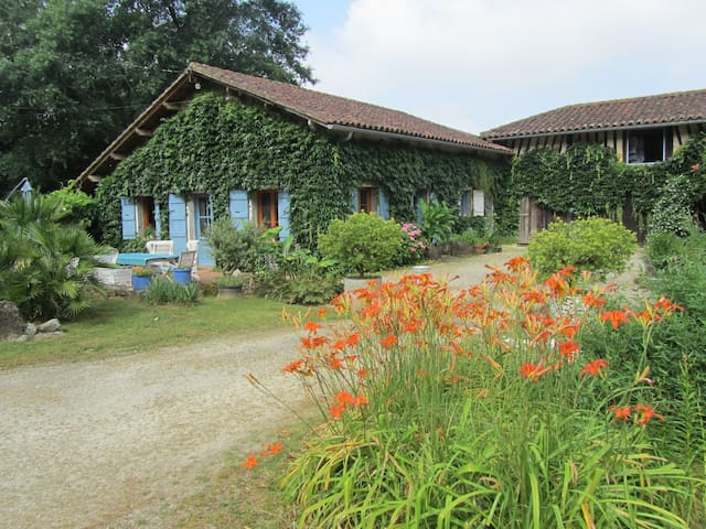 ferme landaise en pleine nature - Labastide-d'Armagnac - Huis