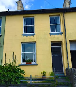 Sunny Family House with Sea View - Machynlleth - Hus