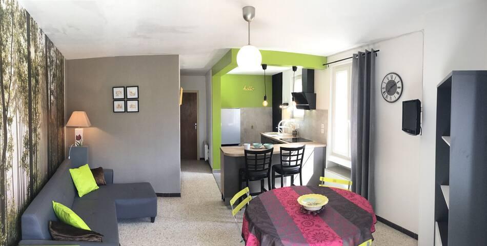 Charmant appartement ensoleillé