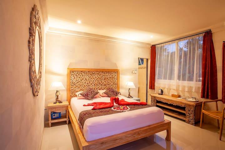 Chambre privée, village et rizières à 2 km d'Ubud