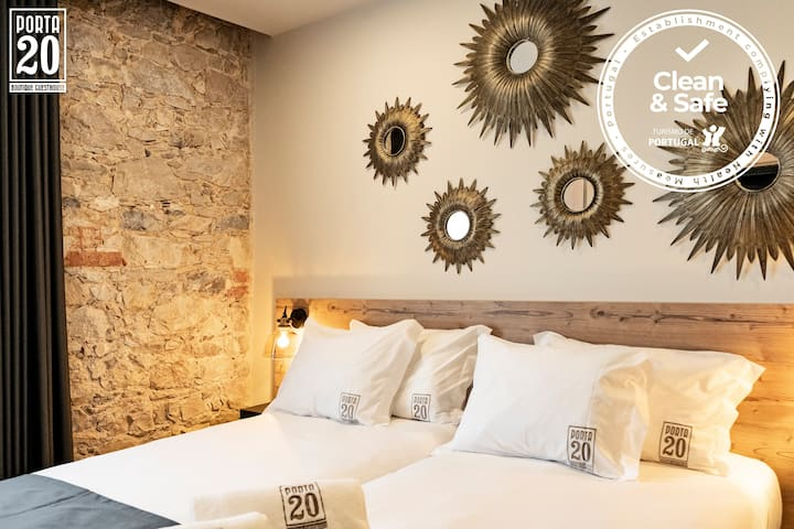Quarto Twin - Porta 20 Boutique Guesthouse