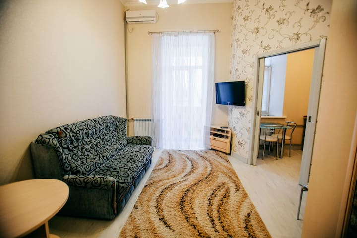 A great 1-room apartment in the city center - Poltava - Apartamento