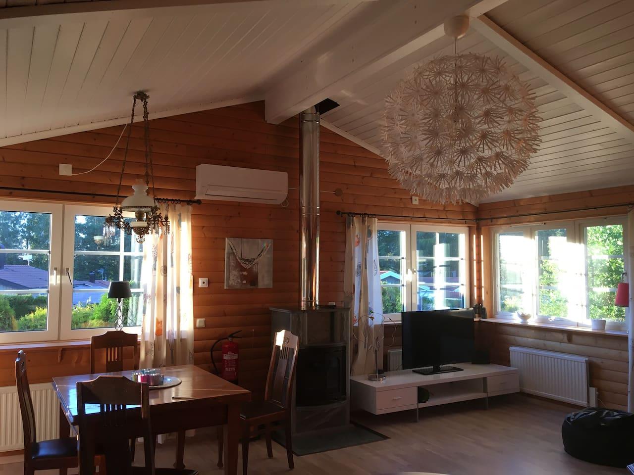 Allrummet / Living room