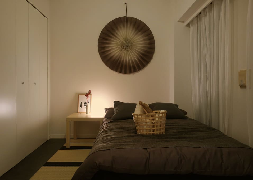 Zen style room in east Shinjuku 5min from Station