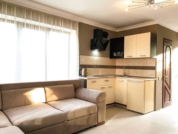 Апартаменты «Элиз» в Совиньоне у моря
