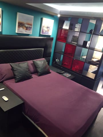 Habitación con salón privado para 2,3 o 4 personas