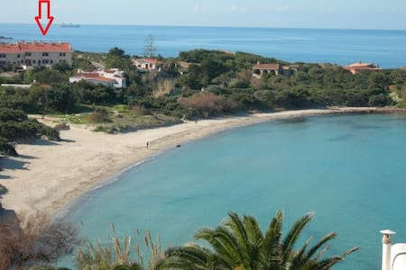 Home nearby Sottotorre beach.Big family friendly!