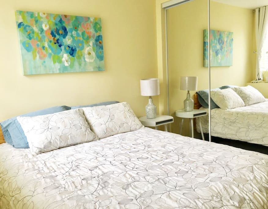 Brand new charming bedroom