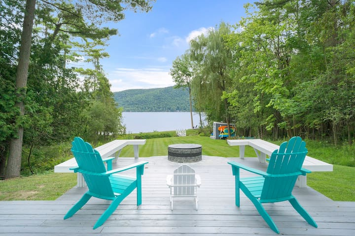 Beauty and Seclusion on Unspoiled Northern Lake George Awaits You!