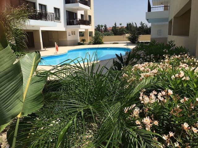 Luxury 3 bed home, pool view, A/C - Alethriko  - Appartement
