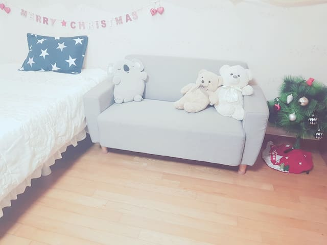Big & clean room near subway!Experience real Korea