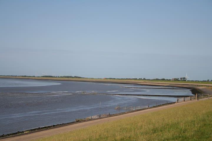 Loft aan de zeedijk.