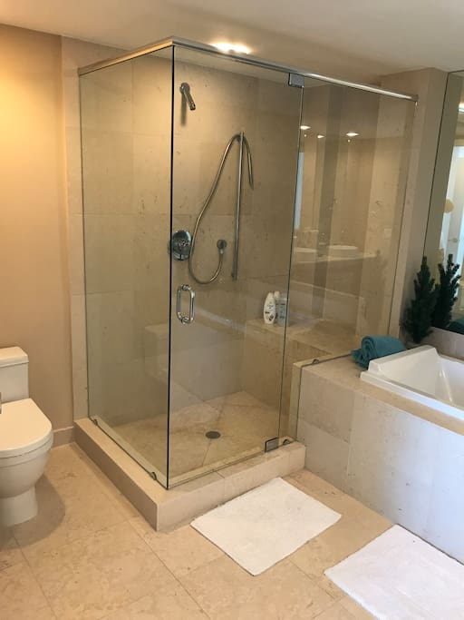 bathroom ,master bedroom