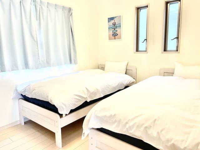 ツインルーム シングルベッド2台