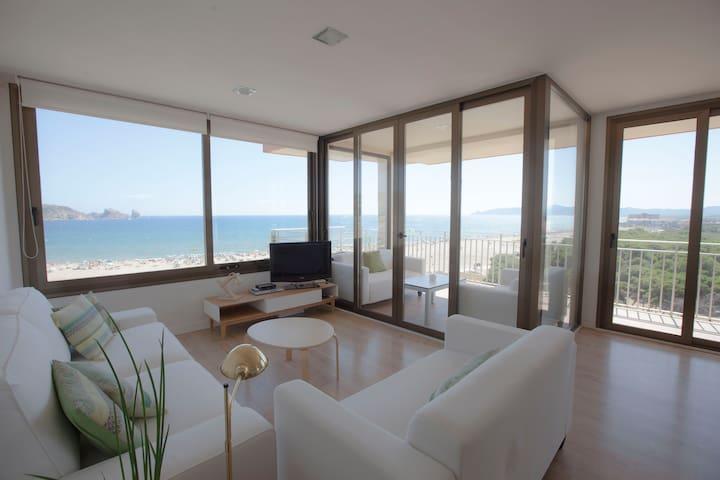 Magnífico apartamento en primera línea de mar - L'Estartit - Apartment
