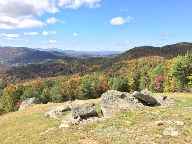 Secluded Blue Ridge Mountaintop Getaway