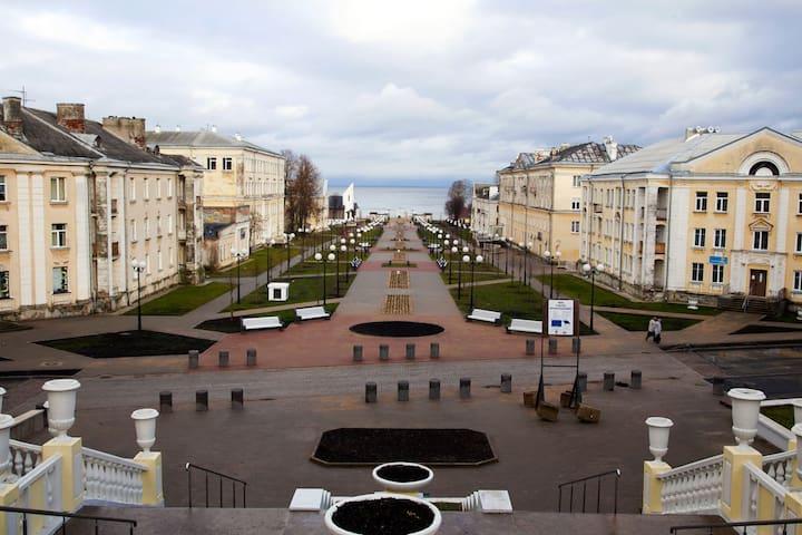 Spacious apartmet in the city center