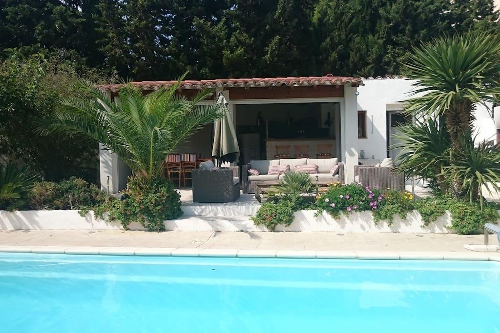 Chambre au calme avec piscine proche centre ville for Chambre hote piscine