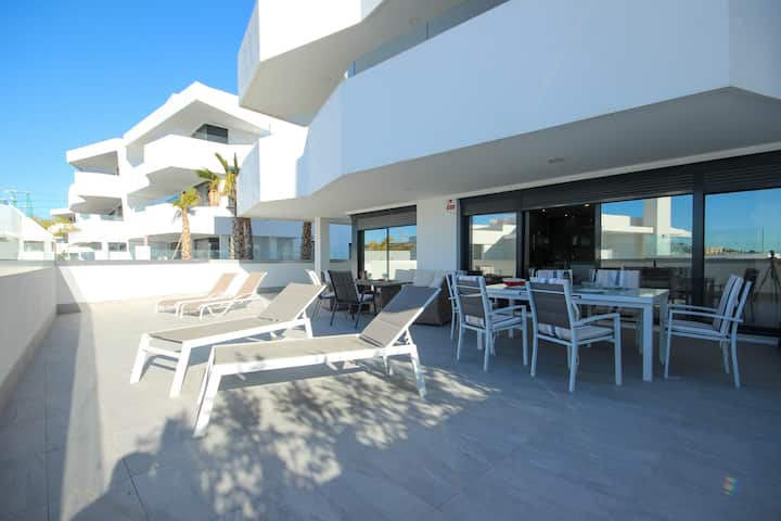 4 bed apartment, Dream Gardens, La Cala