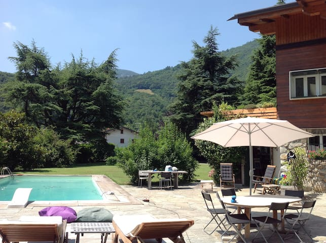 B&B giardino con vista - Ballabio - House