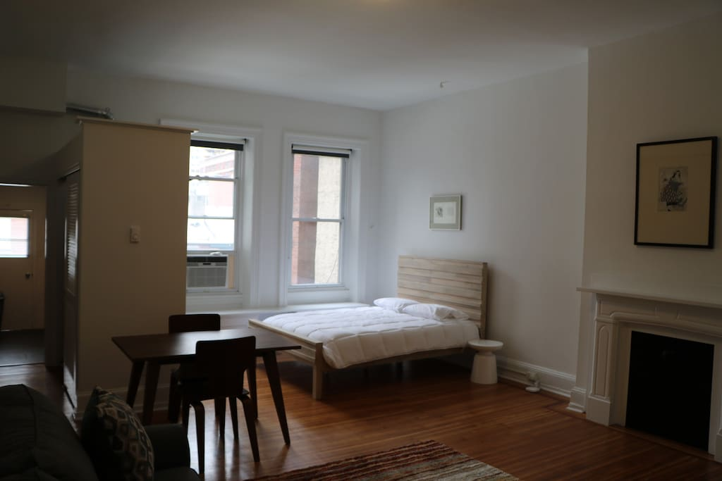 Large, Renovated Studio Apartment