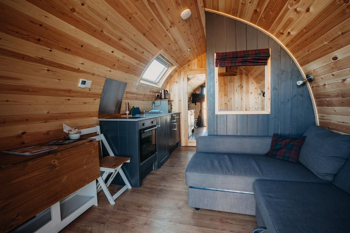 North Star Glamping Two Luxury Glamping Pods