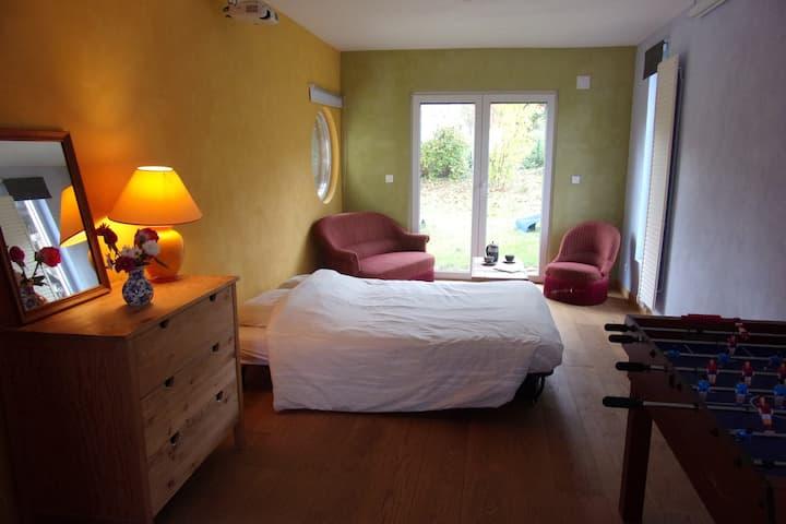 Belle chambre au pied des vignes