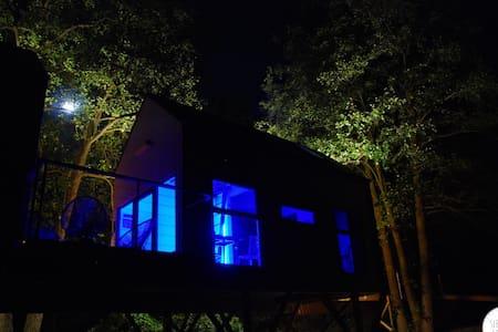 Dzięcioł - domek w gałęziach drzew - Wlodawa - Домик на дереве